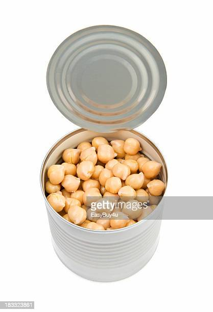 Can of chick pea