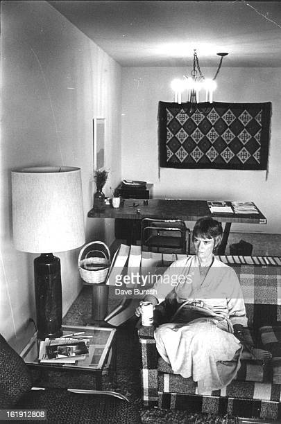 SEP 17 1981 OCT 5 1981 OCT 6 1981 A can of Diet Pepsi and a minute of relaxation before Nancy Dick starts work again