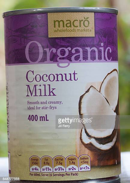 A can of Macro brand Organic Coconut Milk