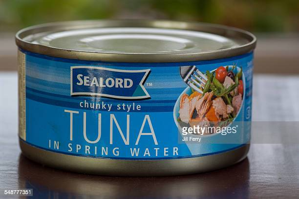 A can of Sealord Tuna in springwater