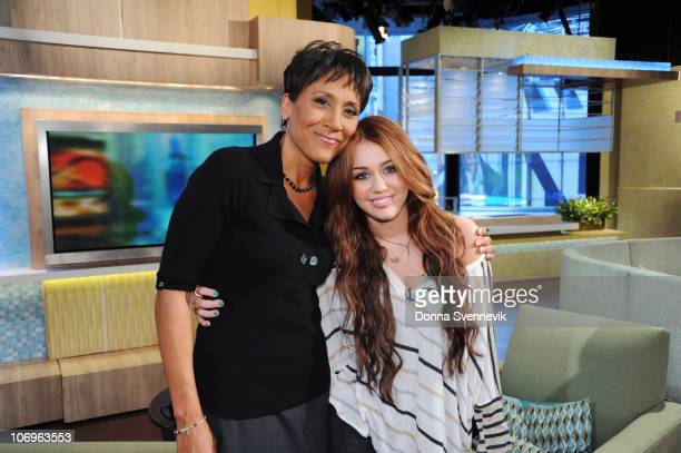 HANNAH MONTANA 'Can You See The Real Me' After revealing that she is Hannah Montana Miley is interviewed by Robin Roberts In a stroll down memory...