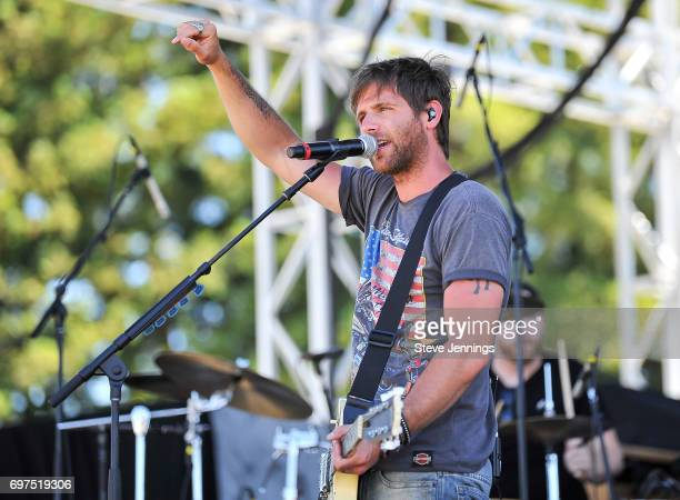 Canaan Smith performs on Day 3 of the 4th Annual Country Summer 2017 concert at Sonoma County Fairgrounds on June 18 2017 in Santa Rosa California