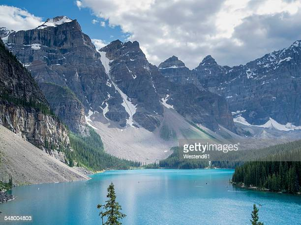 Canada, Alberta, Banff National Park, Lake Moraine