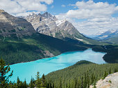 Canada, Alberta, Banff National Park, Peyto Lake