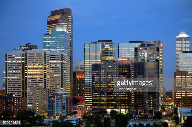Canada, Alberta, Calgary, skyline