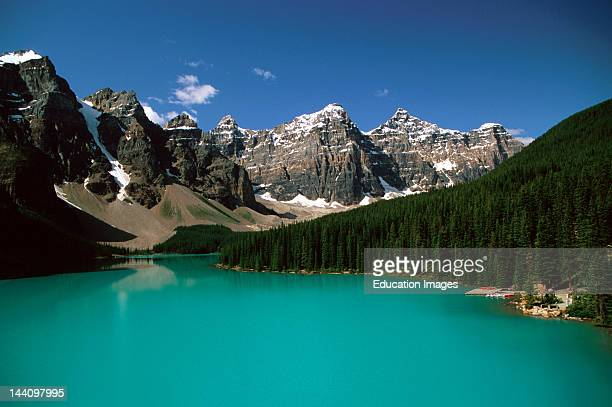 Canada Alberta Canadian Rockies Moraine Lake