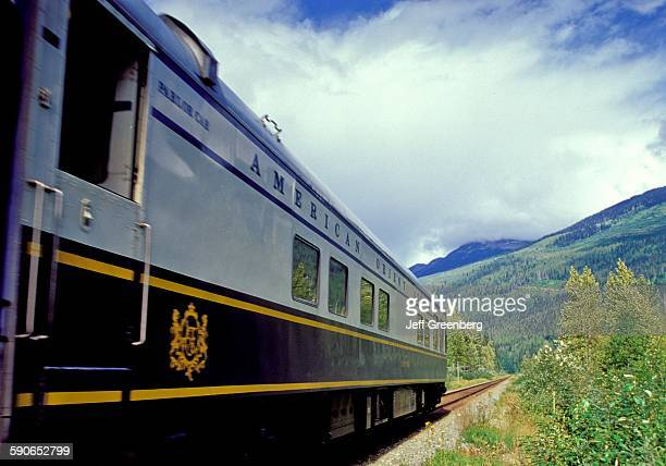 Canada British Columbia American Orient Express Train For 9Day Montreal To Vancouver Trip