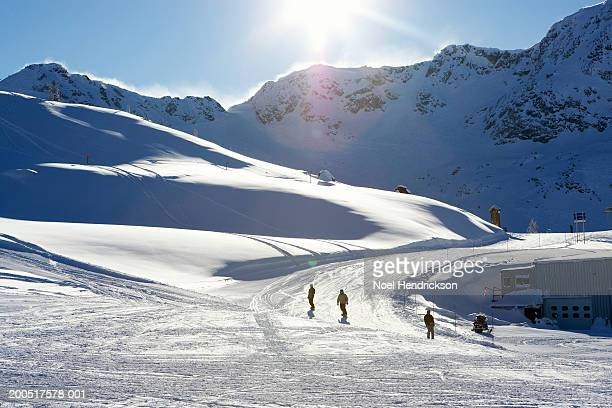Canada, British Columbia, Whistler, ski slope on Whistler Mountain
