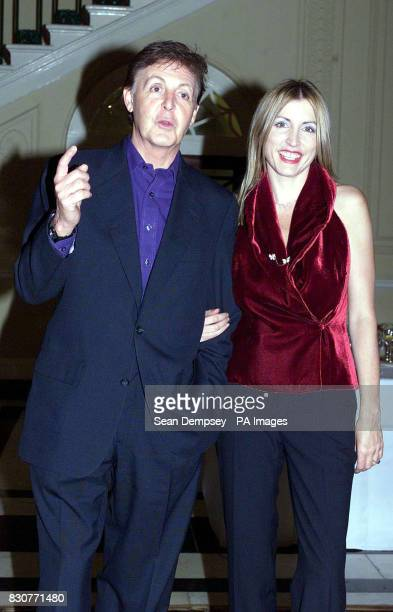 Canada house London marks Land mine ban campaigners including Sir Paul McCartney and his fiance Heather Mills patrons of Adopt a Minefield they...