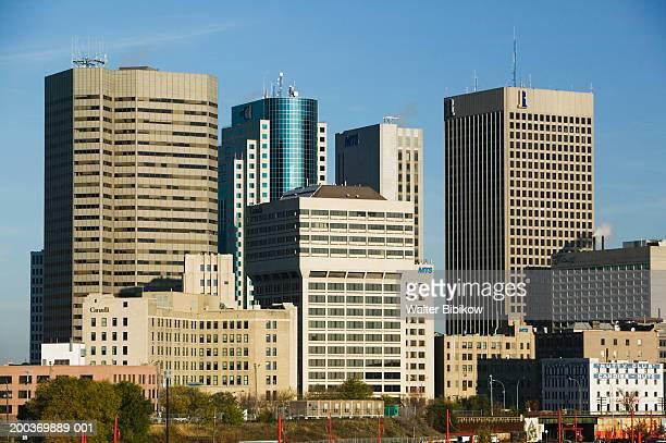 Canada, Manitoba, Winnipeg,  skyline