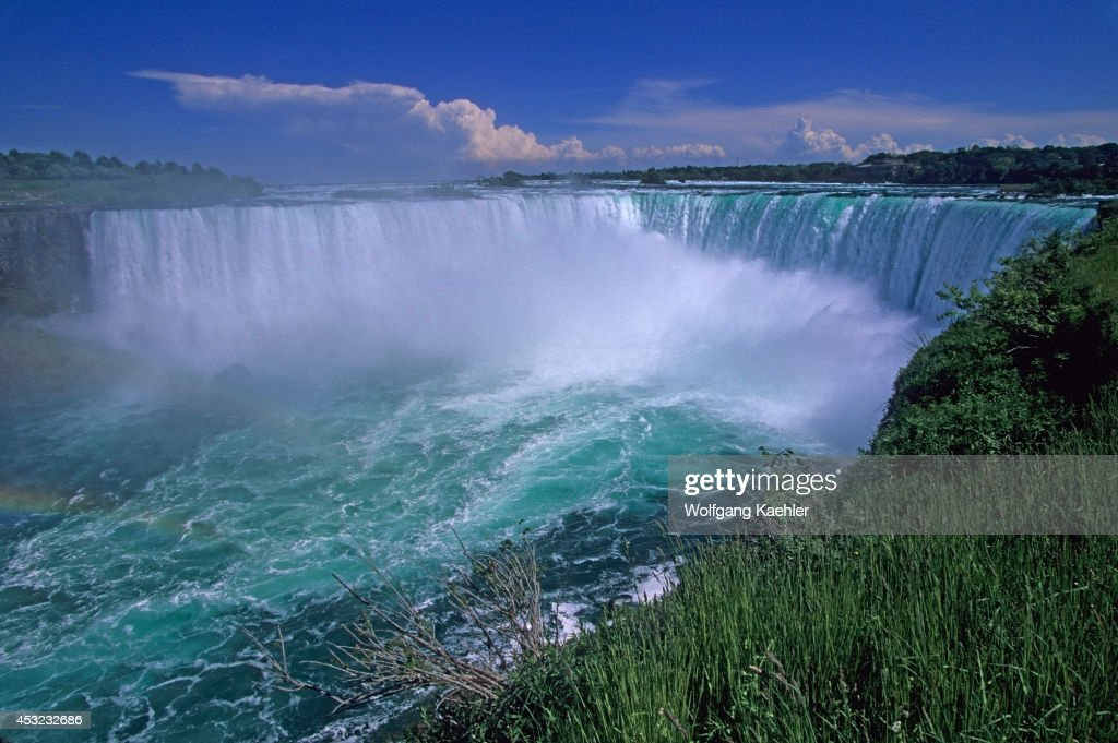 Canada Ontario Niagara Falls Niagara River Horseshoe Falls