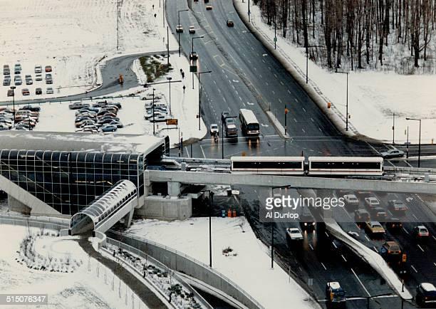 Canada Ontario Toronto Transit Commission Rapid Transit Scarborough LRT