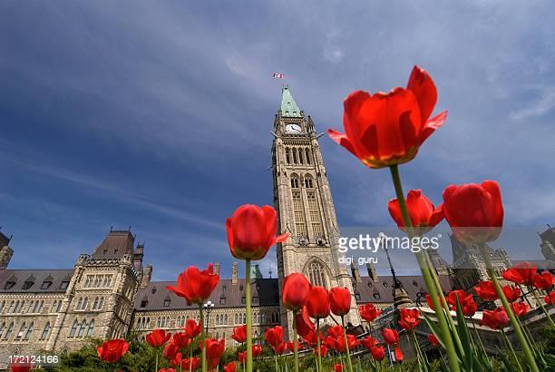 Kanadischen Parlamentsgebäude
