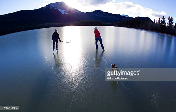 Canada Pond Ice Skating
