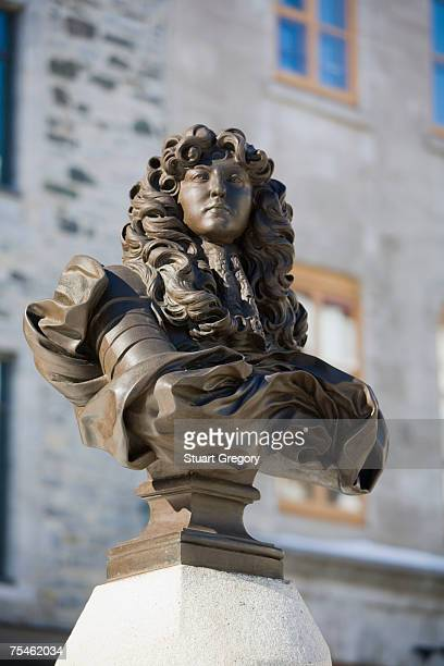 Canada, Quebec, Quebec City, Statue of King Louis XIV at Place Royale