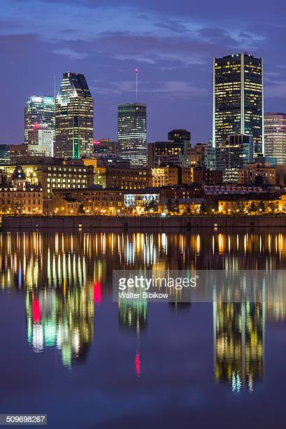 Canada, Quebec, skyline and Old Port