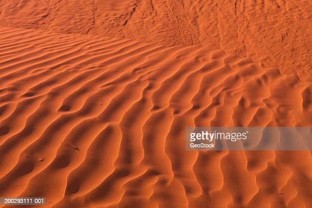 Canada, Saskatchewan, Great Sand Hills, waves in sand (close-up)