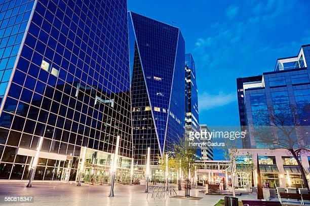 Canada, Saskatchewan, Regina, McCallum Hill Towers