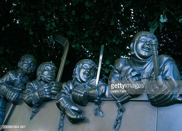 Canada, Toronto, Ontario, Hockey Hall of Fame statue