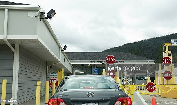 Canada / US Border crossing