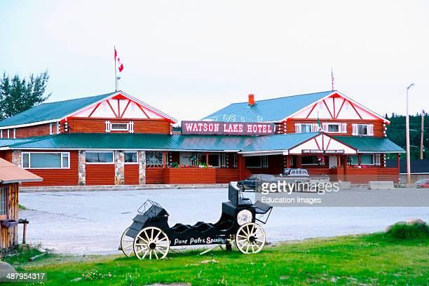 Canada Yukon Territory Watson Lake Hotel