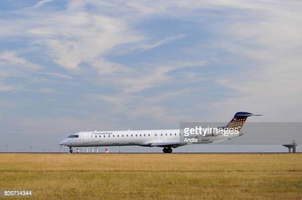 Canadair Regional JetDACNU belonging to the German airline Eurowings