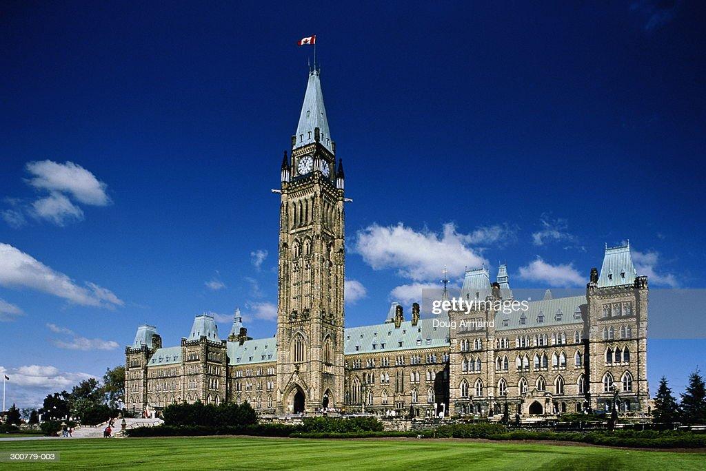 Canada,Ontario,Ottawa,Parliament Building : Stock Photo