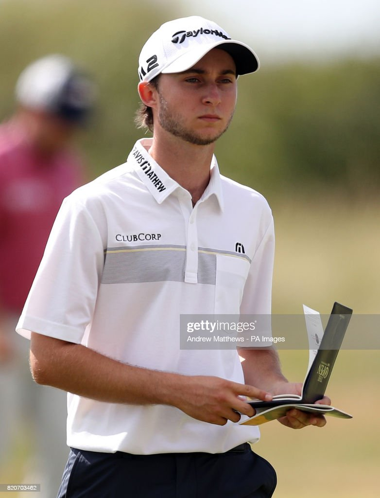 Canada's Austin Connelly during day three of The Open Championship 2017 at Royal Birkdale Golf Club, Southport.