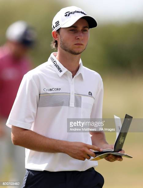 Canada's Austin Connelly during day three of The Open Championship 2017 at Royal Birkdale Golf Club Southport