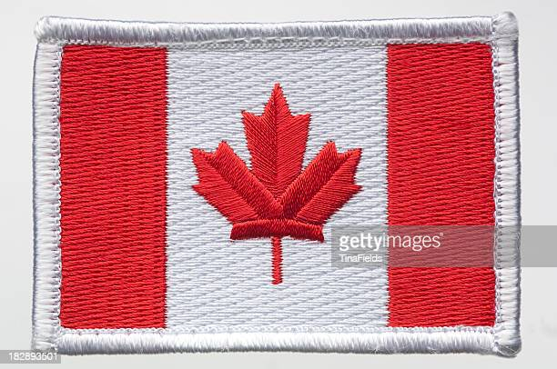 Canada's flag patch.