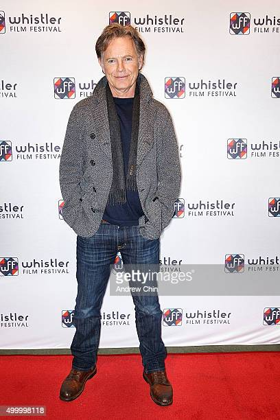 Canadian actor Bruce Greenwood attends the world premiere of 'Rehearsal' during the 15th Annual Whistler Film Festival at Millennium Place on...