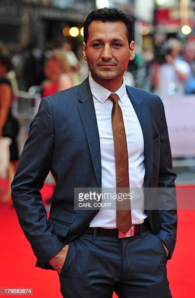 Canadian actor Cas Anvar attends the world premiere of Diana in central London on September 5 2013 The film is a biopic of the late princess of Wales...
