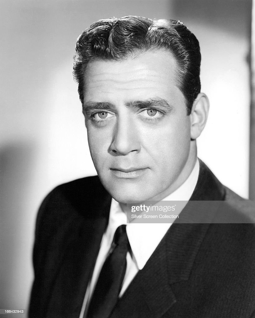 Canadian actor Raymond Burr circa 1957