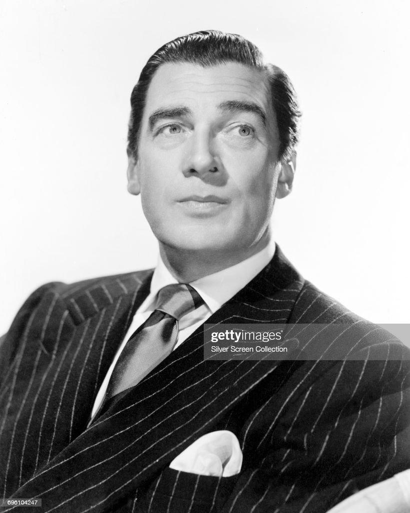 Canadian actor Walter Pidgeon (1897 - 1984), circa 1945.
