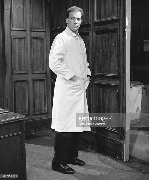 Canadian actor writer and singer William Shatner appears in the episode 'No Deadly Medicine' of the CBS anthology series 'Studio One' December 2 1957