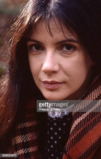 Canadian actress Carole Laure in Quebec for the filming of the movie 'Maria Chapdelaine' directed by Gilles Carle November 1982