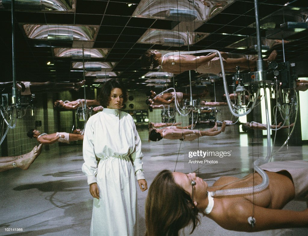 Canadian actress Genevieve Bujold in 'Coma', directed by Michael Crichton, 1978.
