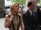 Canadian actress Genevieve Sabourin arrives with lawyer Maurice Sercarz at Manhattan Criminal Court in New York May 14 2012 Fourtyyearold Sabourin...