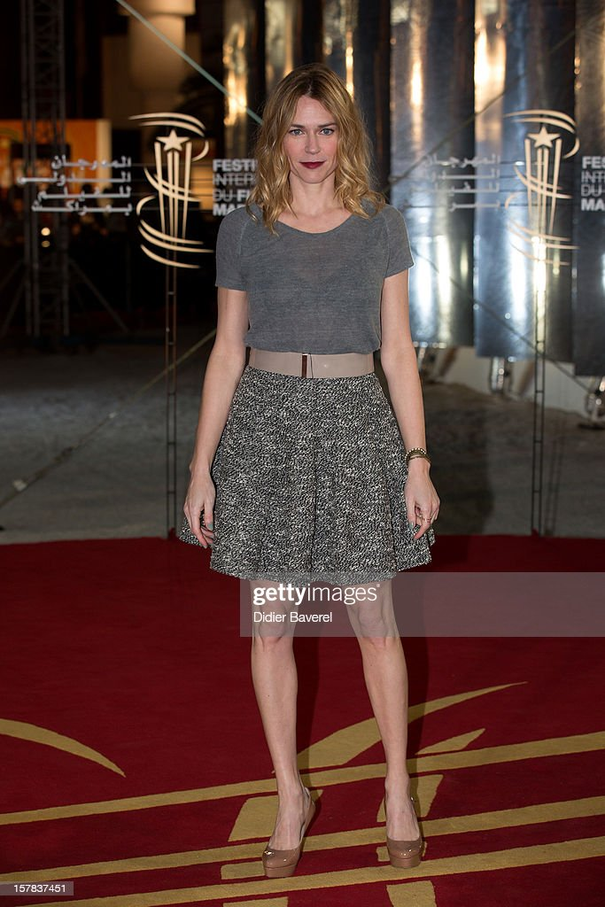 Canadian actress Marie Josee Croze attends the tribute to Jonathan Demme at 12th International Marrakech Film Festival on December 6, 2012 in Marrakech, Morocco.