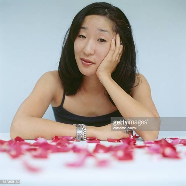 Canadian actress of Korean origins Sandra Oh.