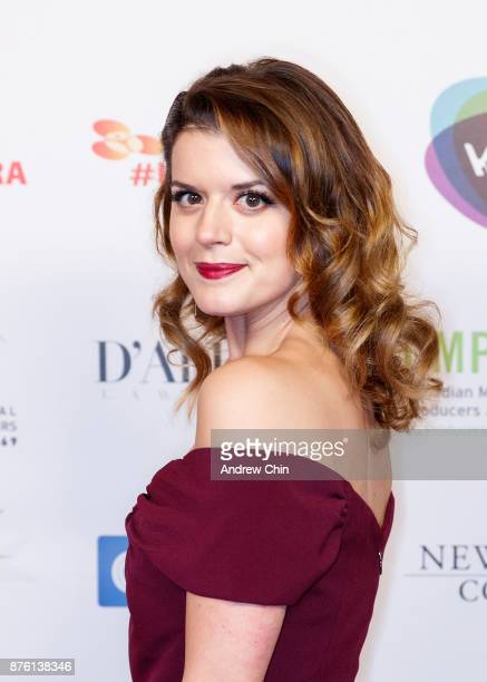 Canadian actress Priscilla Faia attends the 6th Annual UBCP/ACTRA Awards at Vancouver Playhouse on November 18 2017 in Vancouver Canada