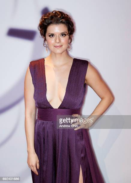 Canadian actress Priscilla Faia attends the Leo Awards 2017 at Hyatt Regency Vancouver on June 4 2017 in Vancouver Canada