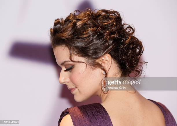 Canadian actress Priscilla Faia hair detail attends the Leo Awards 2017 at Hyatt Regency Vancouver on June 4 2017 in Vancouver Canada