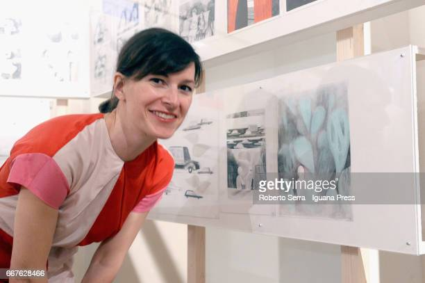 Canadian artist and graphic novelist Isabelle Arsenault attends the opening day of her exhibition 'La Meraviglia' at International Museum of Music on...