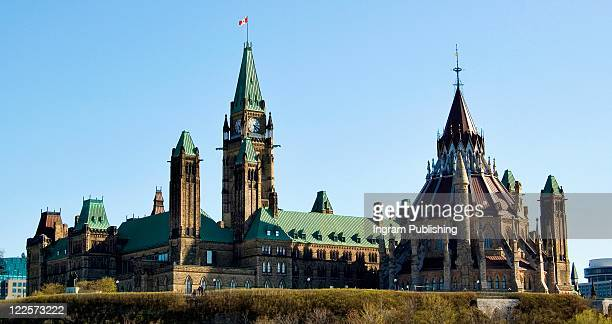 Canadian cities, National Parliament buildings, Ottawa Canada.