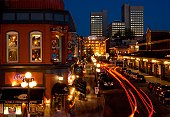 Canadian cities, night life in the Byward Market, Ottawa Canada.