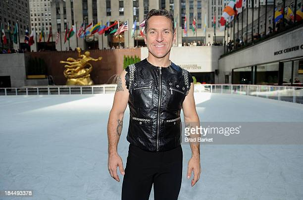 Canadian figure skater Elvis Stojko attends 'The Rink At Rock' 20132014 season opening at The Rink at Rockefeller Center on October 14 2013 in New...