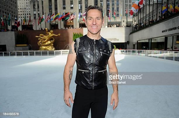 Canadian figure skater Elvis Stojko attends 'The Rink At Rock' 20132014 season opening at The Rink at Rockefeller Center on October 14 2013 in New...