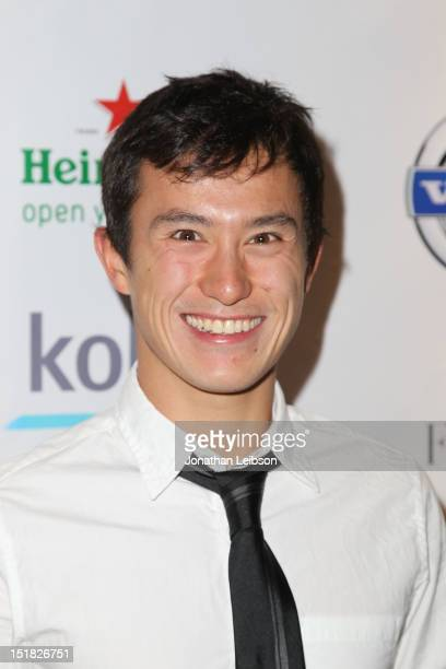 Canadian Figure Skater Patrick Chan attends the 'Passion' After Party during the 2012 Toronto International Film Festival at 1812 on September 11...
