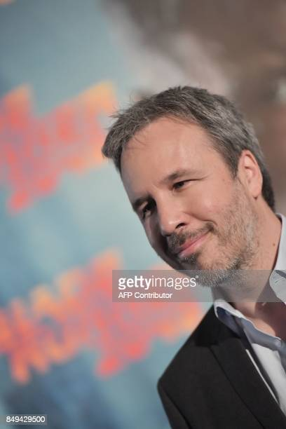 Canadian film director Denis Villeneuve poses during the photocall of his movie 'Blade Runner 2049'' on September 19 2017 in Rome / AFP PHOTO /...